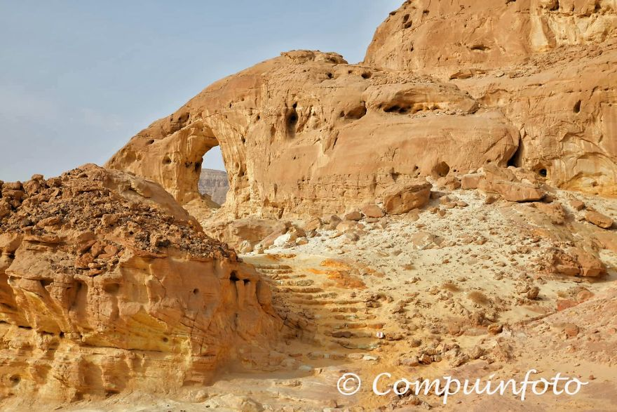 Rock Window In Timna National Park