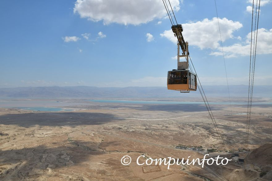 With The Cable Car To Massada