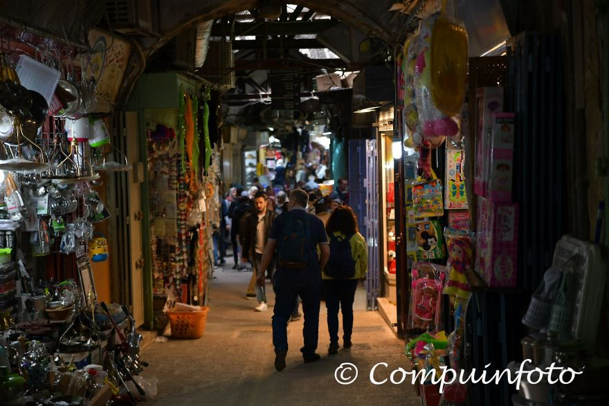 The Old Streets In The Old Town Jerusalem