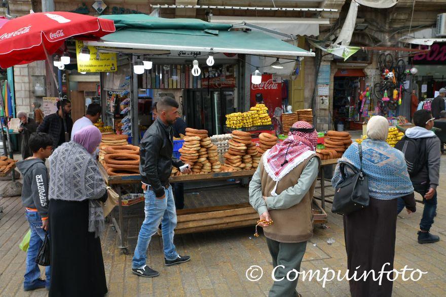 Normal Streetlife In Jerusalemm