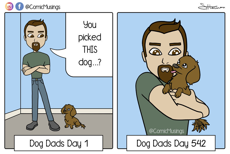 Reluctant Dog Dads Are The Best!