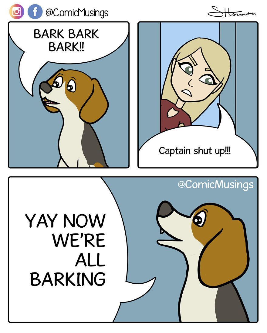 Yay Now We're All Barking!