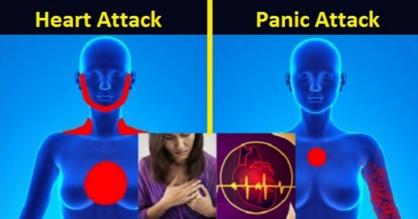 How to Recognize the Difference Between a Panic Attack and Heart Attack