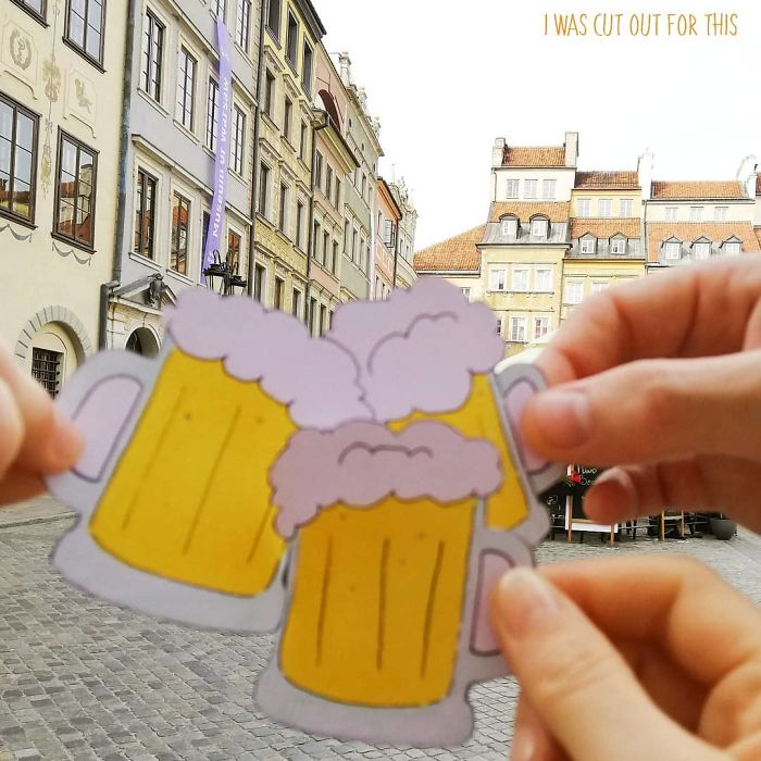 I Created Paper Cutouts Tell My Travel Stories For Me