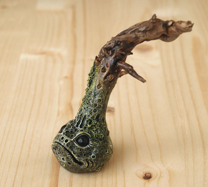 I Sculpt Fantasy Creatures With Polymer Clay