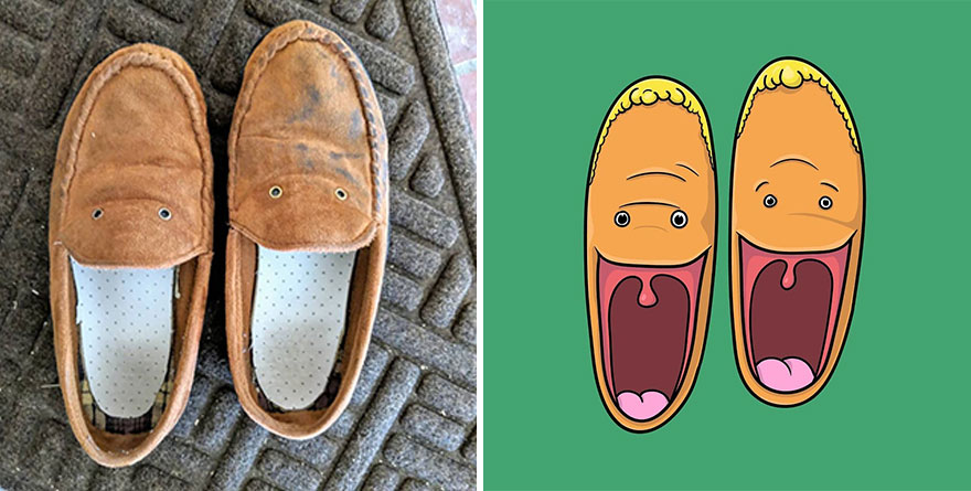 Linx And Rex The Chipper House Slippers