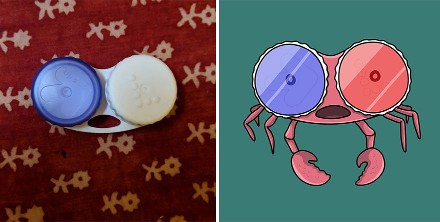 Connie The 3D See Crab