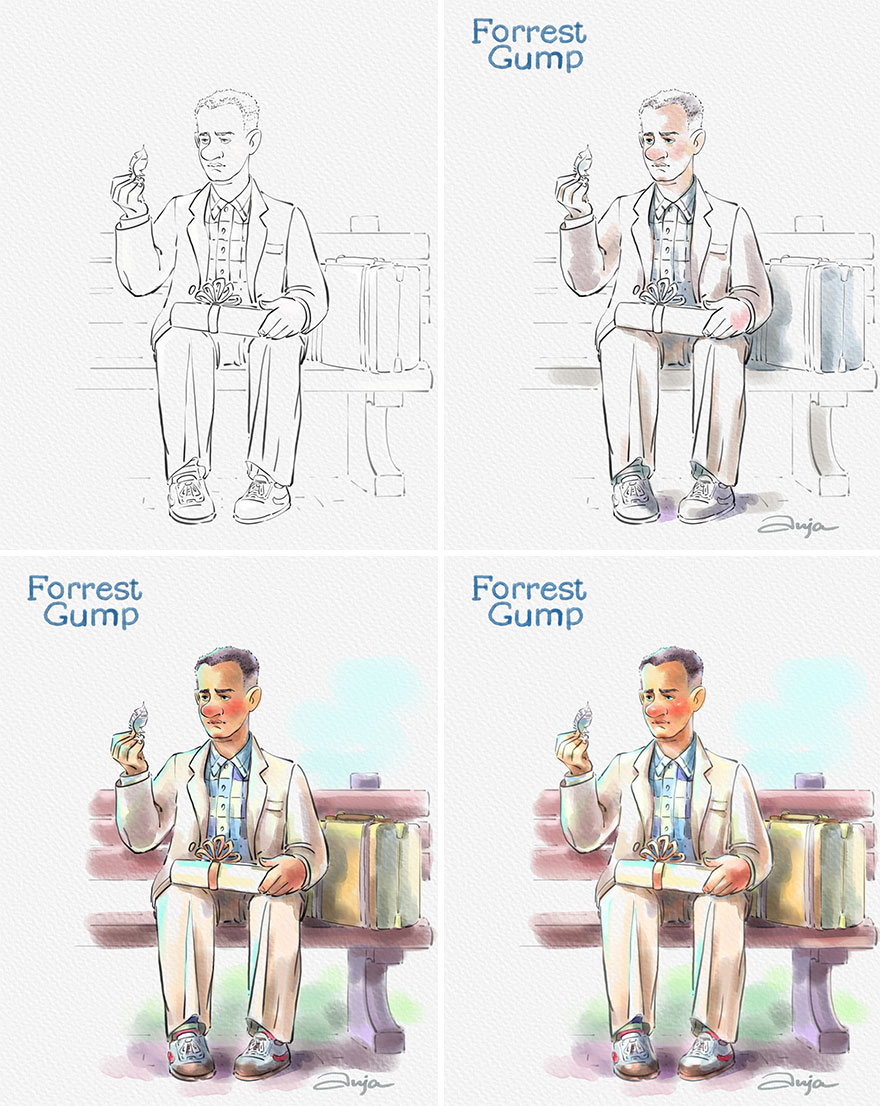 I Turned 8 Iconic Tom Hanks' Characters Into Cartoons