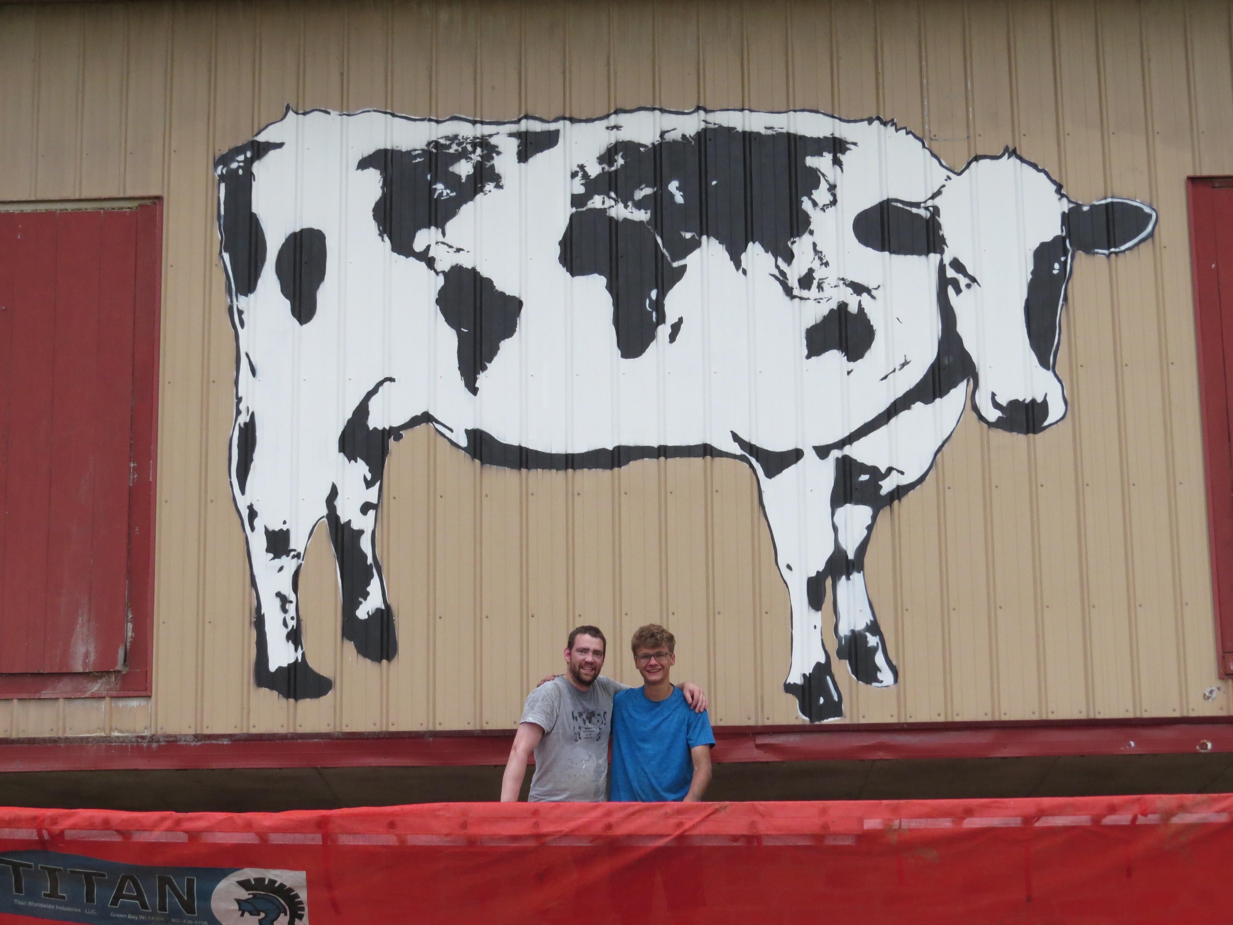 World Cows Bringing World Peace