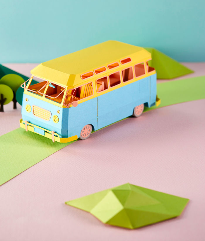 Sculptures Of Everyday Meals And Household Goods Crafted From Brightly Colored Paper By Lee Ji-Hee