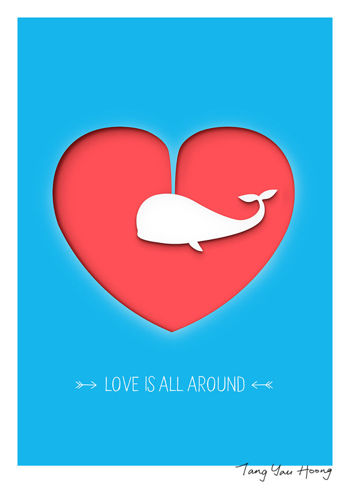 """""""Love Is All Around"""""""
