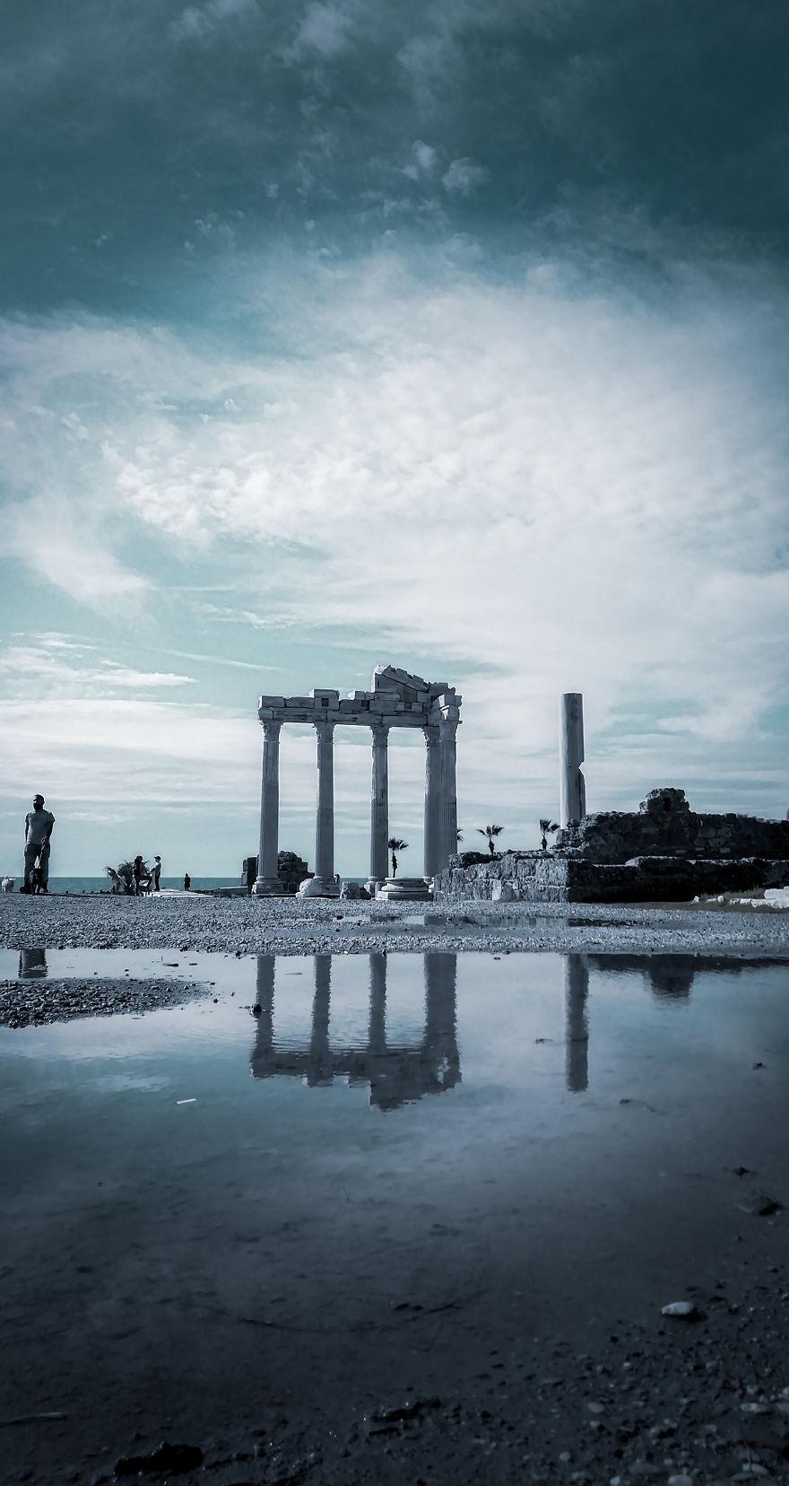 Temple Of Appolo, Side Ancient City, Antalya, Turkey