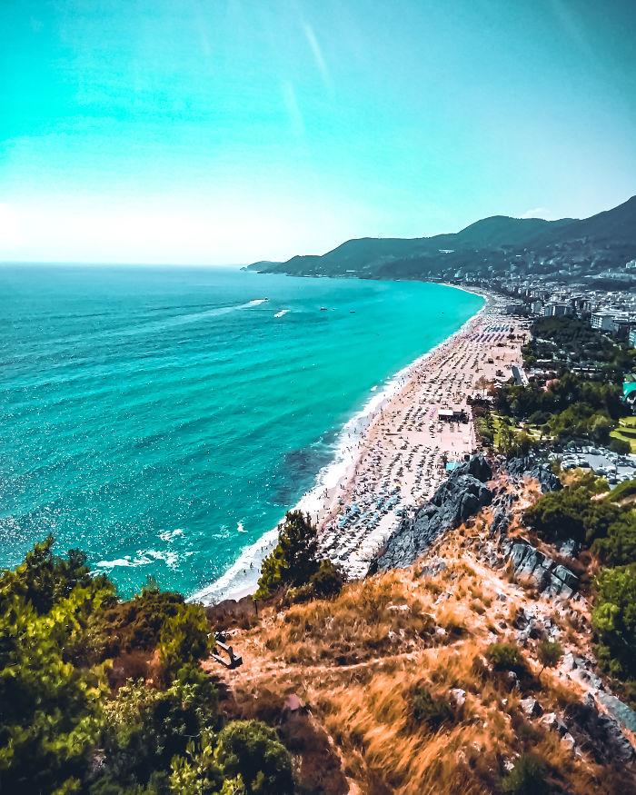 Cleopatra Beach, Alanya, Turkey