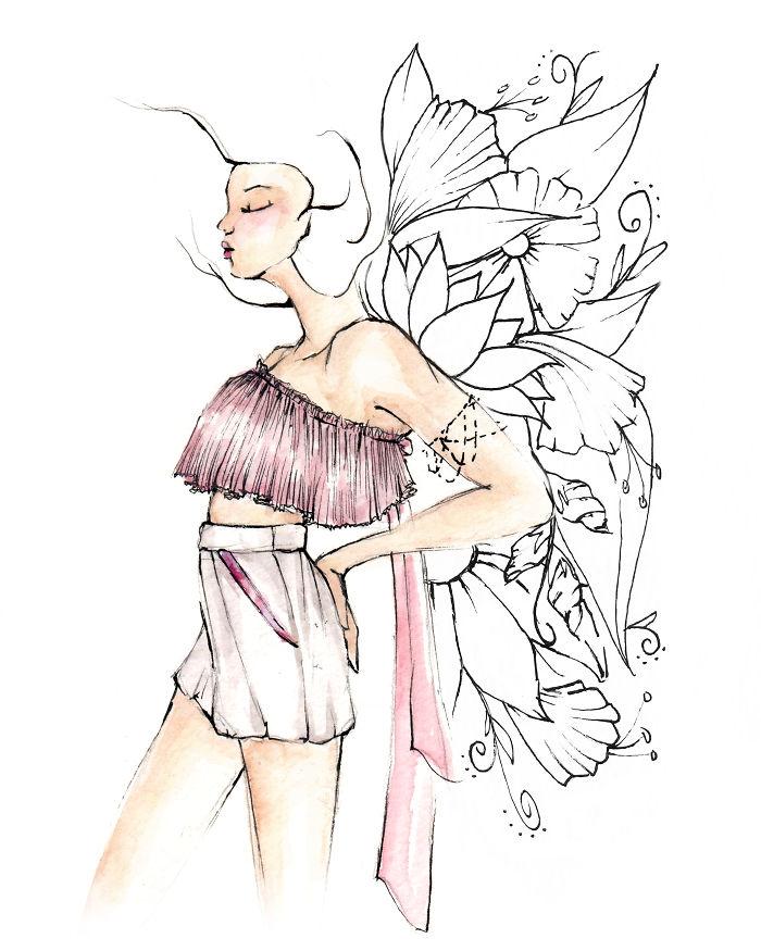 Woman In Bloom