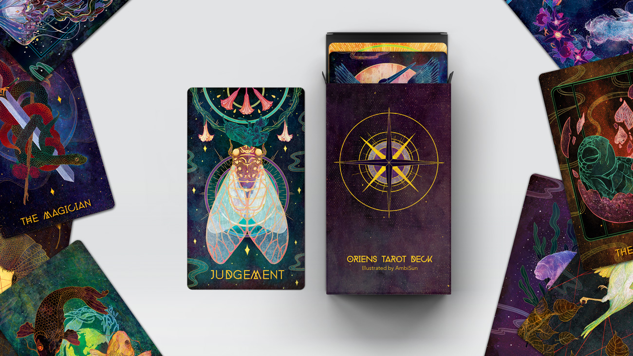 I've Illustrated An 78 Card Animal Themed Tarot Deck And It Took Me 5 Years To Make.