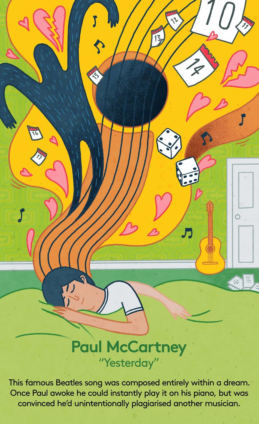 We Illustrated 6 People Who Dreamed Their Breakthrough Ideas