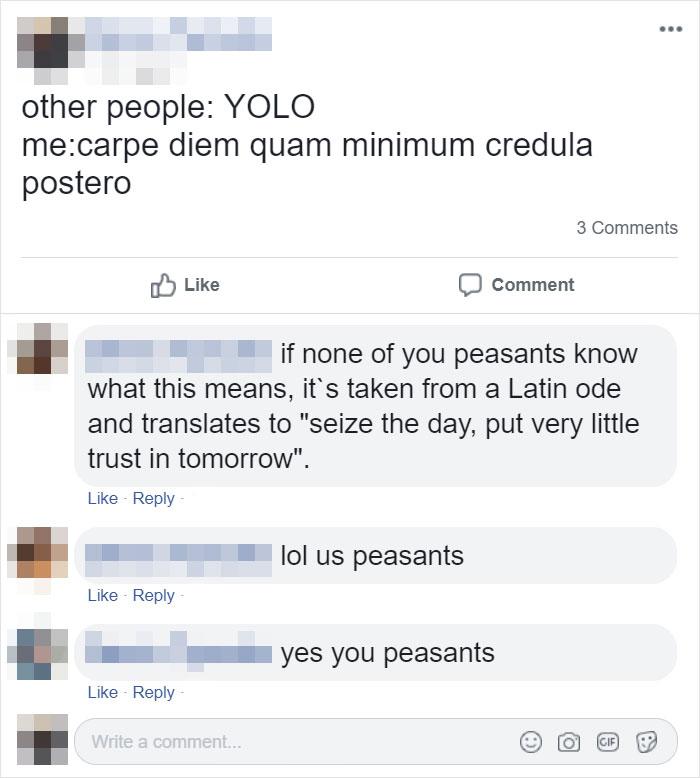 You Peasants
