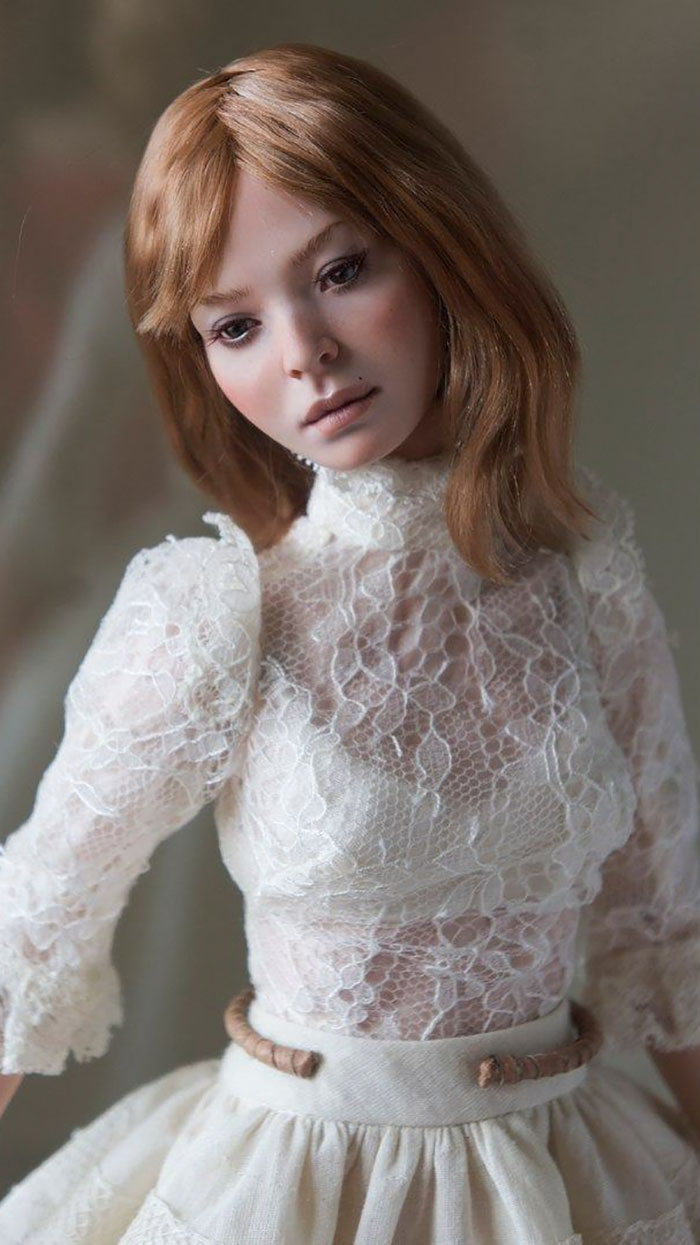 Russian Couple Make Realistic Dolls That Will Make You Believe They Are Mini Human