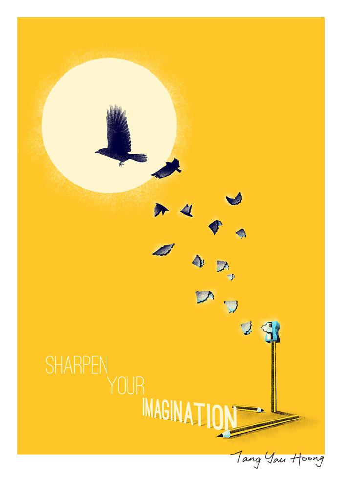 """Sharpen Your Imagination"""