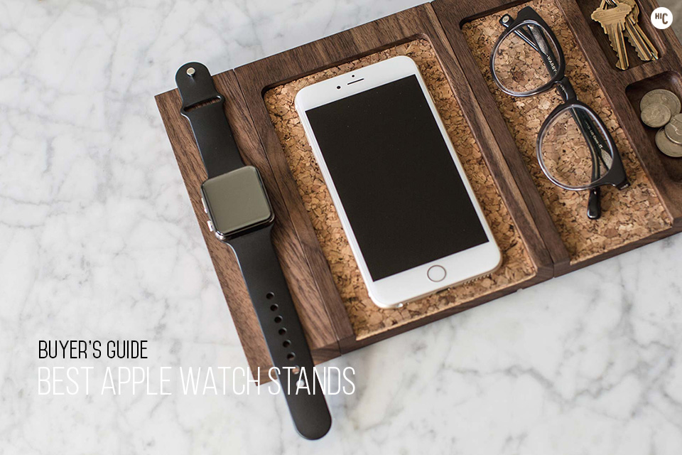 Time Keepers The 10 Best Apple Watch Docks and Stands