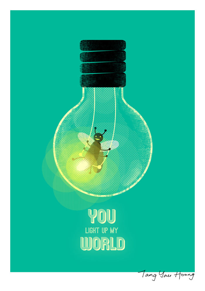 """You Light Up My World"""