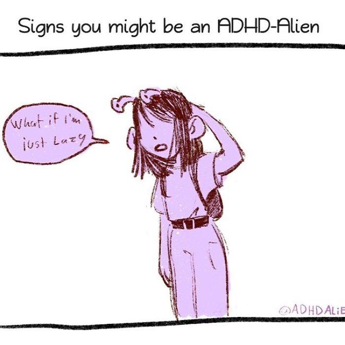 Adhd-Explaining-Alien-Comics