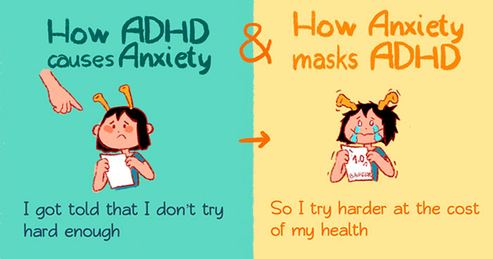 21 Comics About ADHD By A 29-Year-Old Artist That Only Got The Right Diagnosis A Year Ago