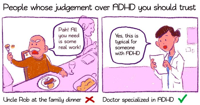 Just How Common Is Adhd Really New >> 21 Comics About Adhd By A 29 Year Old Artist That Only Got The Right