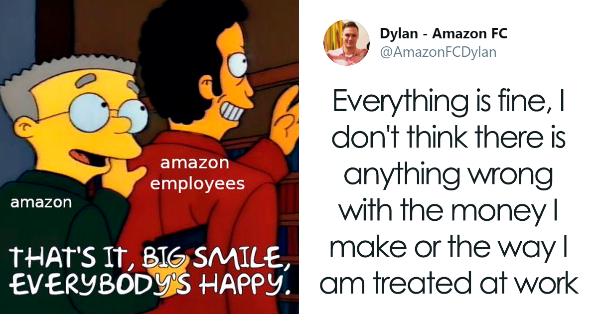 "Amazon Accused Of Using ""Fake"" Ambassadors To Promote Working Conditions In Their Warehouses"