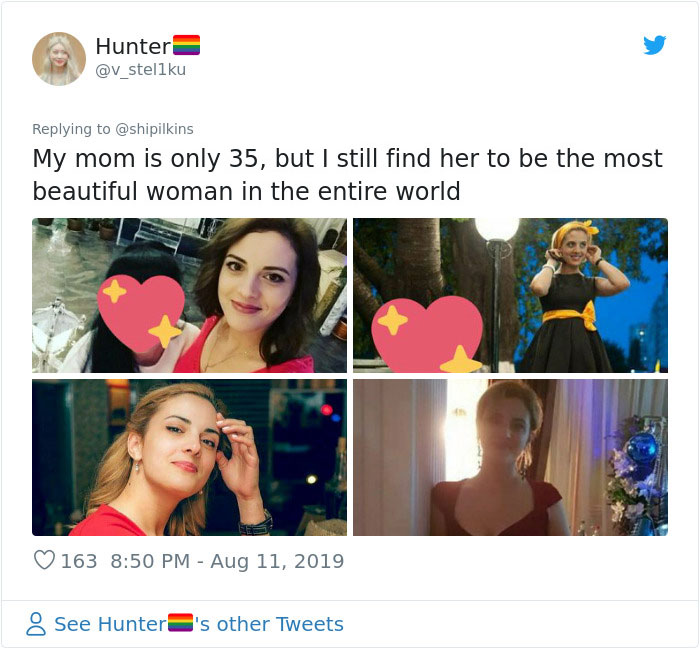 Daughter Brags About How Good Her Mom Looks, Accidentally Starts A Viral Thread (33 Pics)