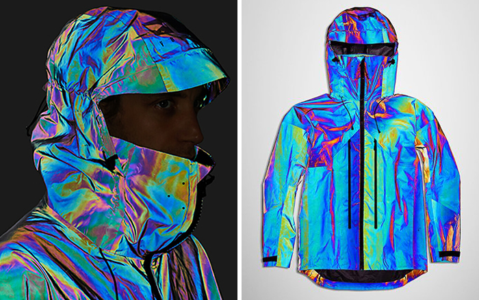Designers Created A Jacket That Mimics Survival Mechanism Of A Squid And Is Made Of 2 Billion Glass Spheres