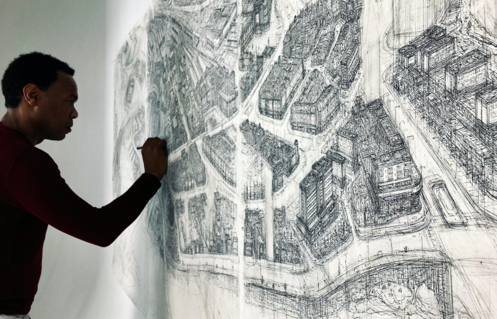 We Have Created A Huge Ink-Sketch Of The Entire City Of Inverness, Scotland