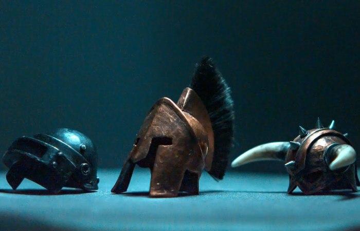 Miniature Helmets – Made Of Copper Caps