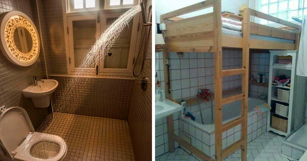 People Are Sharing The Worst Bathroom Design Fails They've Seen, And They're Hilarious (78 Pics)