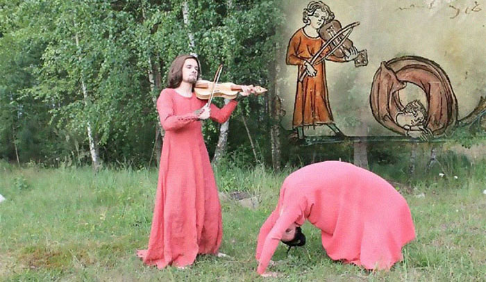 These Czech Students Recreate Scenes From Medieval Books, And They're Hilariously Strange (15 Pics)