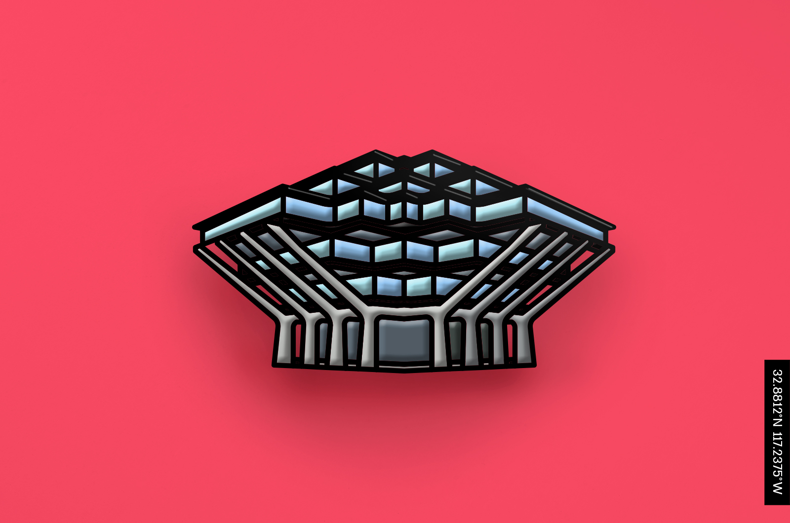 Drop-A-Pin- Architectural Enamel Pin Collection