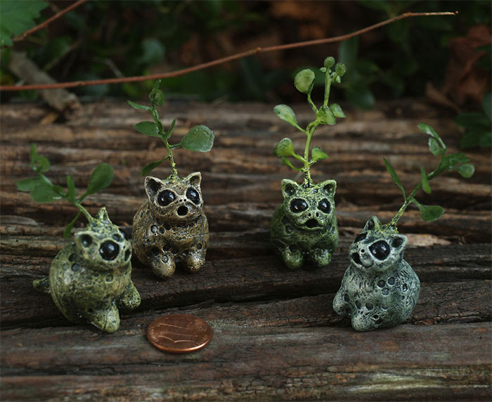 I Make Tiny Monsters Inspired By Nature Out Of Polymer Clay (38 New Pics)
