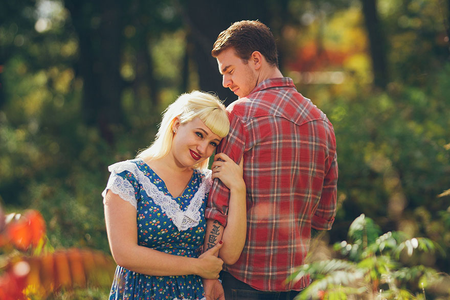 This Couple Has The Most Horrifying Engagement Photoshoot