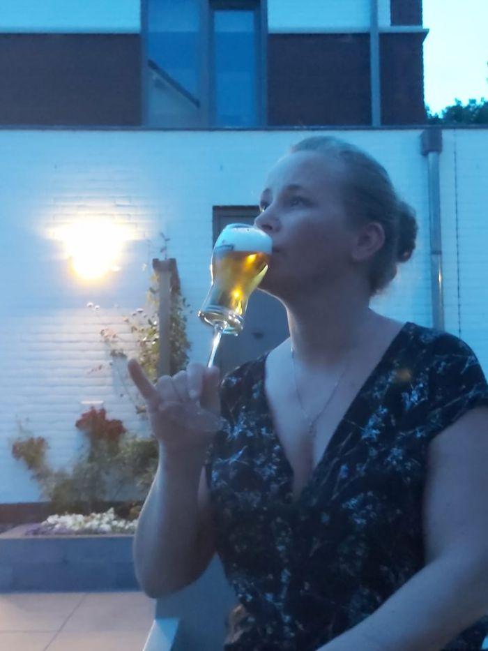 Finally... I Can Drink My Beer With Ladylike Class!