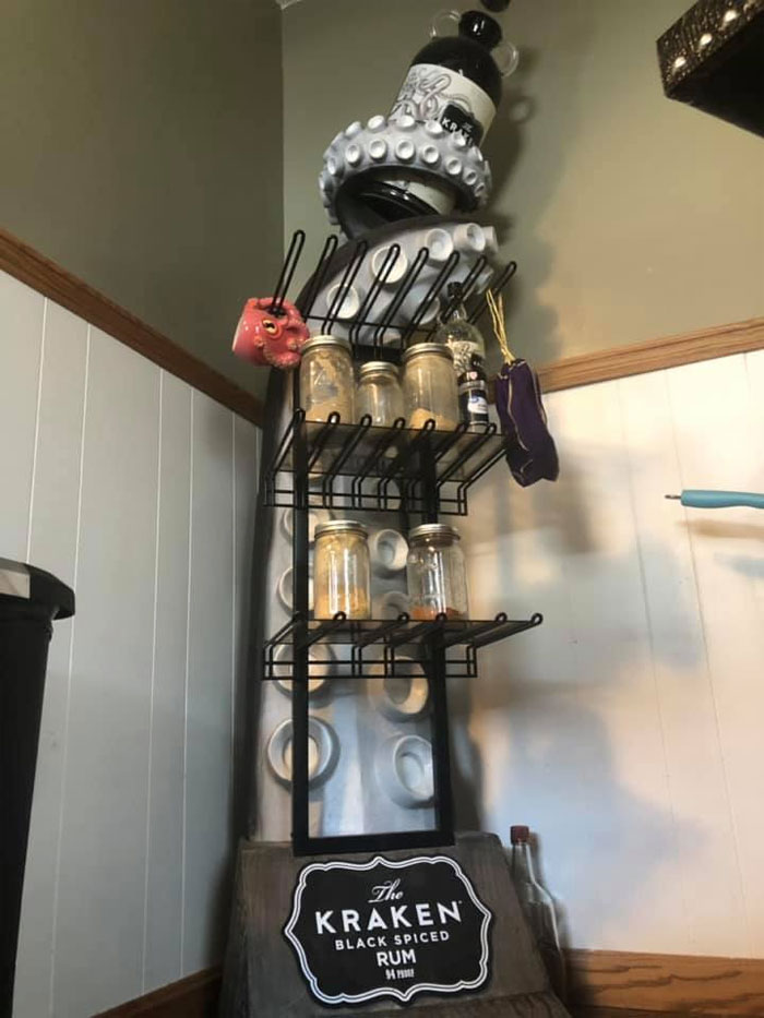 Check Out This Kraken Stand I Have In My Kitchen Now