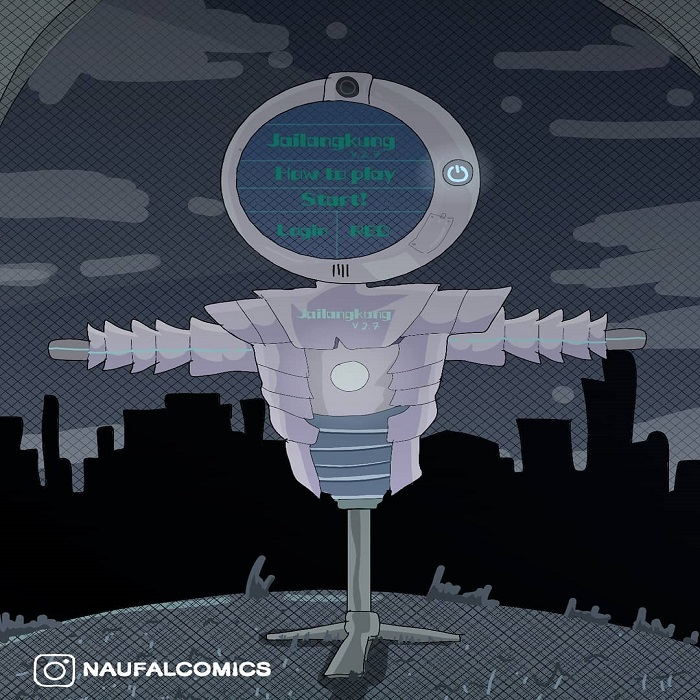 Artist Create Futuristic Ghost From Indonesia. They Are Follow Technological Develompment And Evolve!