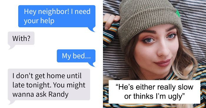 Girl 'Subtly' Hints At The Fact That She Likes Her Neighbor, Has To Tell Him Upfront When He Doesn't Get It