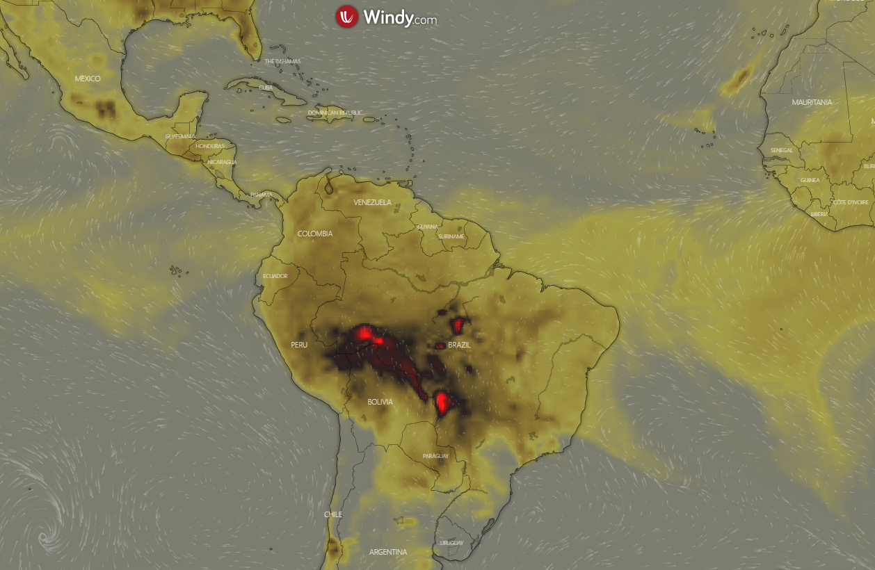 The Amazon Forest Has Been Burning For Weeks And NASA Shares Photos From Space