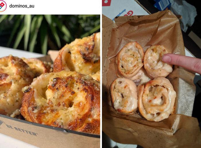 Australian Pizza Shop. Instagram vs. My Order Tonight