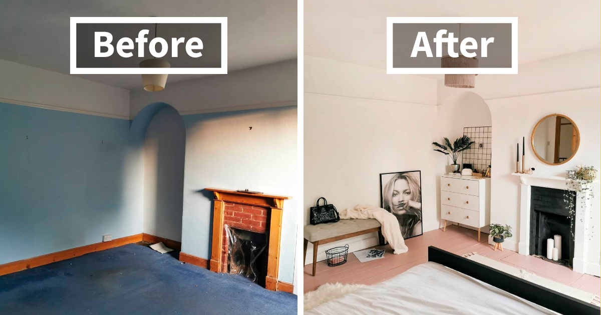 This Girl Does An Extreme Guest Room Makeover In 5 Days And