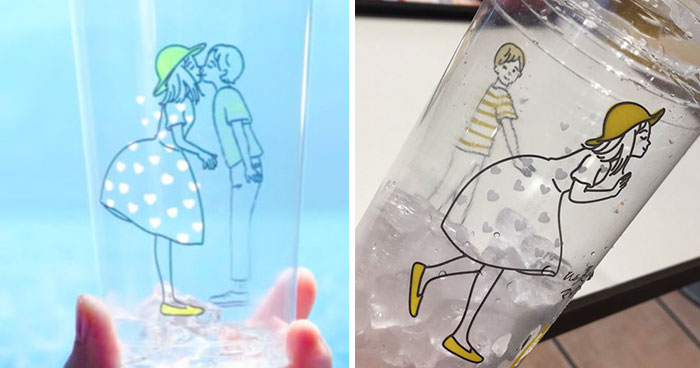 People Are Laughing At These Cups By McDonald's Japan Because They Become Inappropriate After Rotating Them