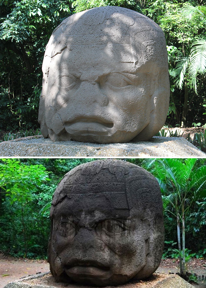 Indonesian Tourists Vandalize Olmec Monumental Sculptures In Tabasco