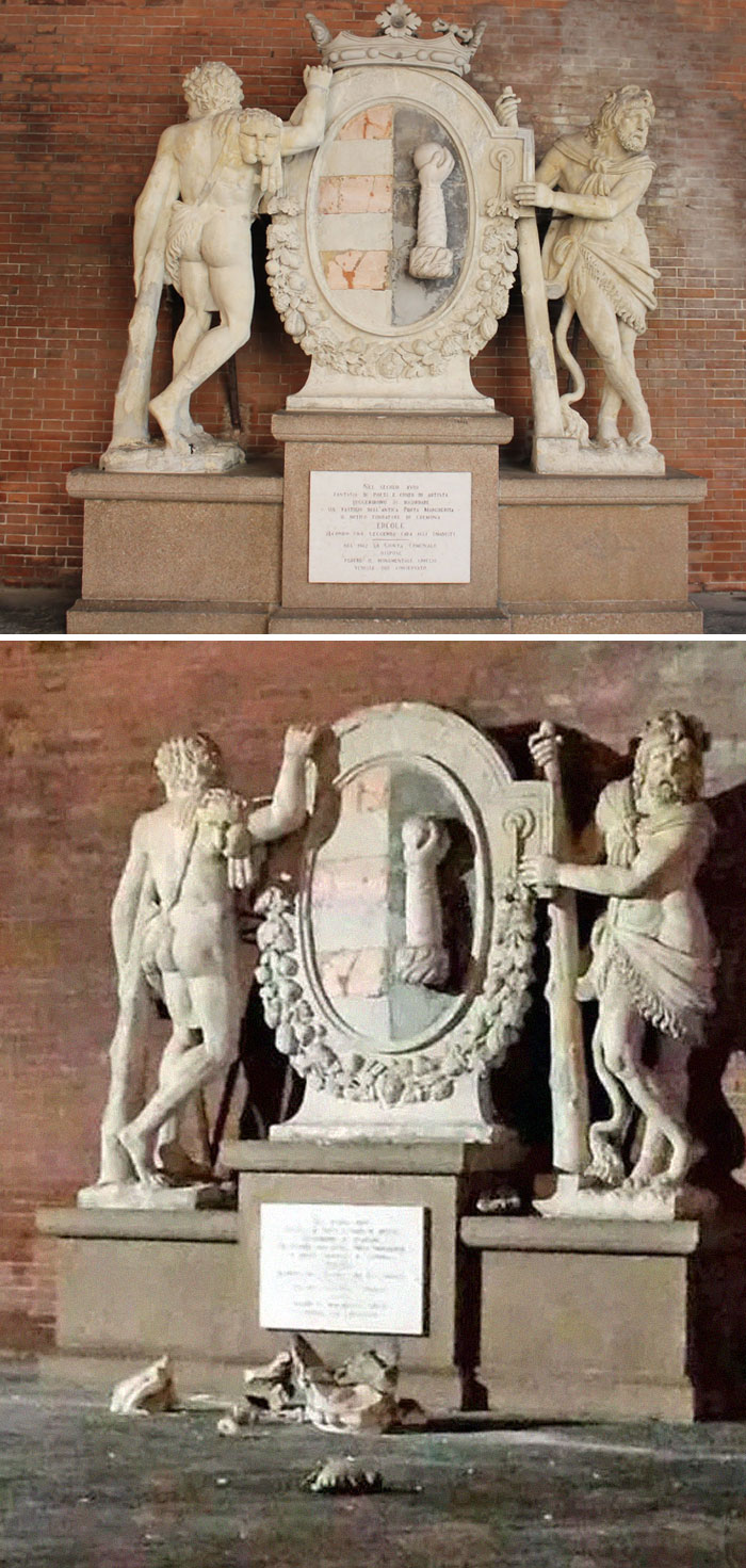 Tourists Destroy Priceless Italian Monument While Trying To Take A Selfie