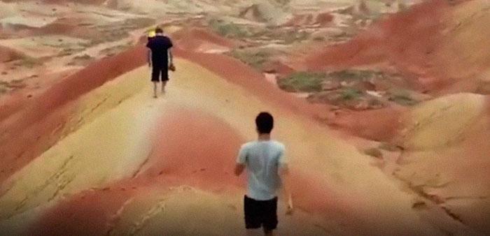 Tourists Damage Ancient Landform Where Dinosaurs Roamed