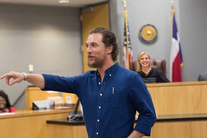 Matthew McConaughey Becomes A Full-Time Film Professor At The University Of Texas